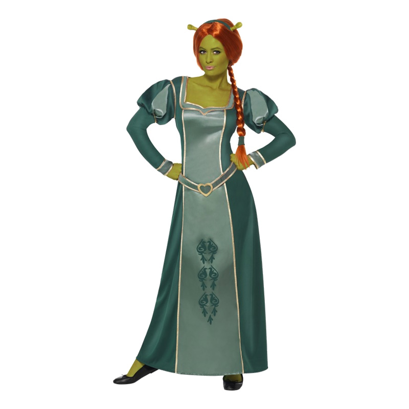 Prinsessan Fiona Maskeraddräkt