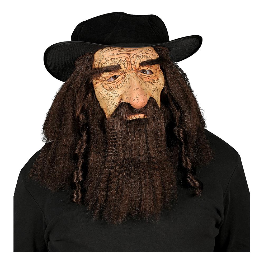 Rabbi Mask med Hatt