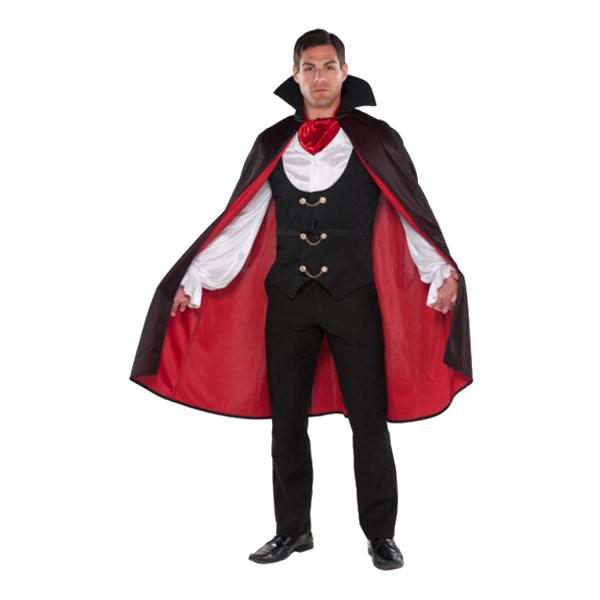 Traditionell Vampyr Maskeraddräkt