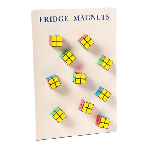 Rubiks Kub Kylskåpsmagnet thumbnail