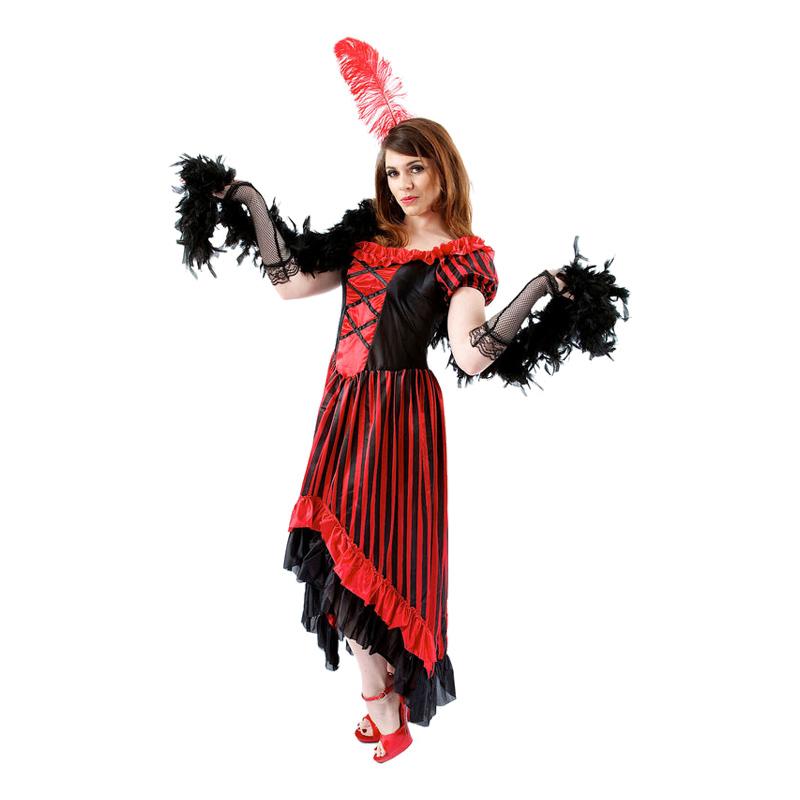 Saloongirl Maskeraddräkt