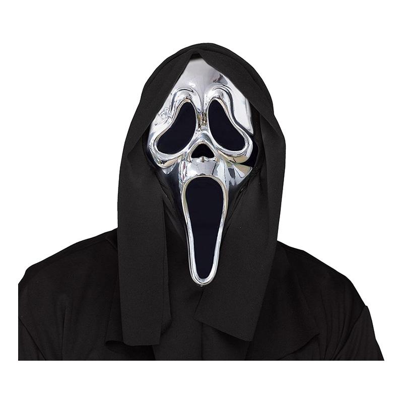 Scream Mask Silver