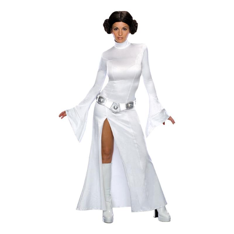 Söt Prinsessan Leia Maskeraddräkt