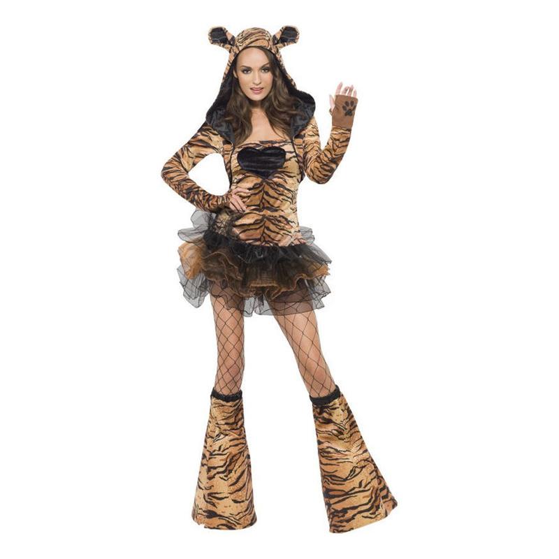 Tigerklänning Maskeraddräkt