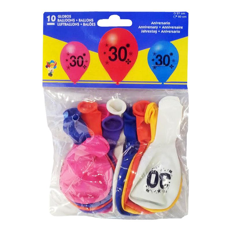 Sifferballong Latex 30
