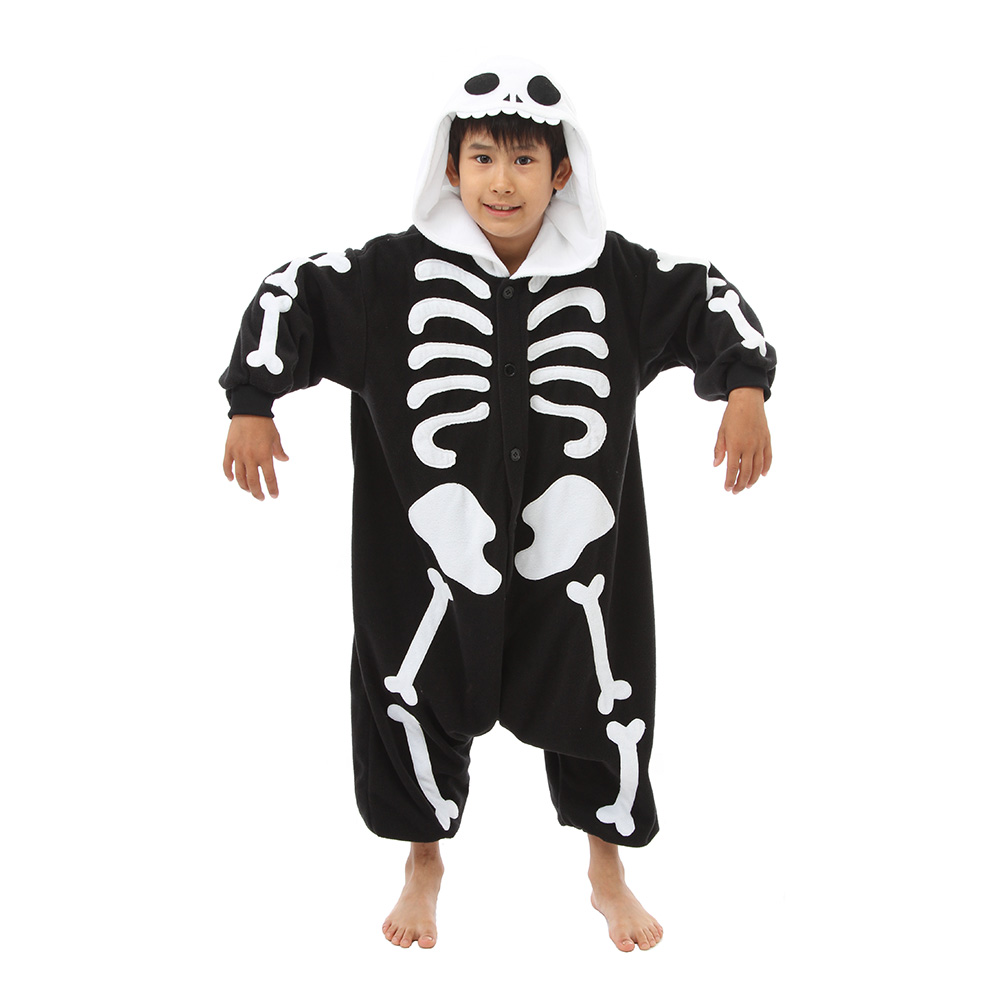 Skelett Barn Kigurumi