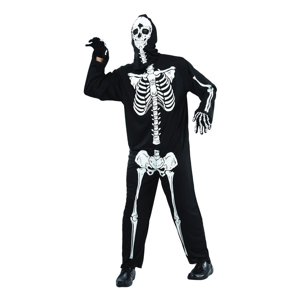 Skelett Budget Maskeraddräkt