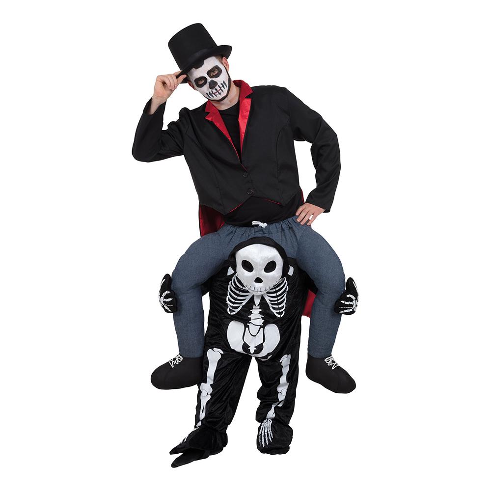 Skelett Ridande Maskeraddräkt