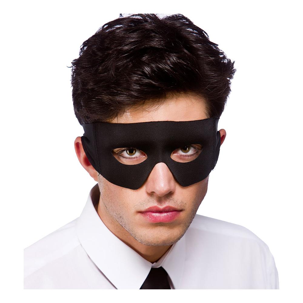 Skurk/Superhjälte Svart Ögonmask