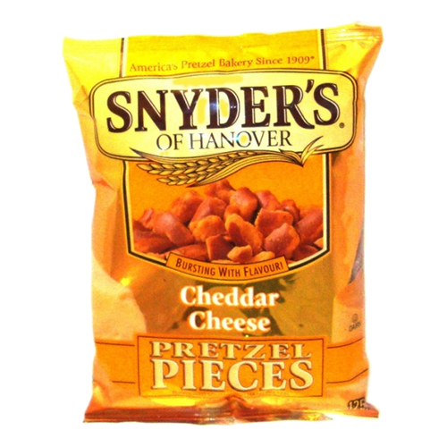 Snyder's Pretzels Cheddar Cheeze
