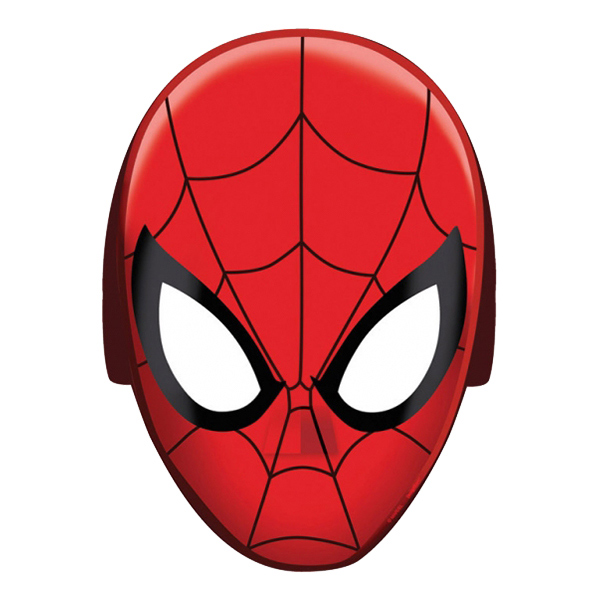 Spiderman Pappmasker