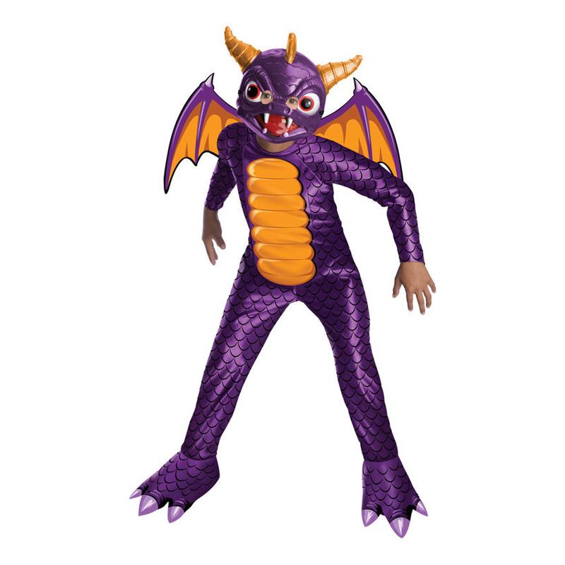 Spyro Barn Maskeraddräkt