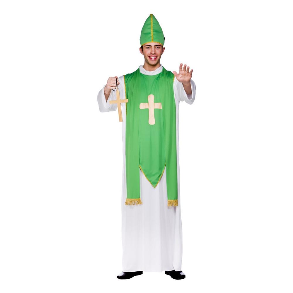St Patrick Präst Maskeraddräkt