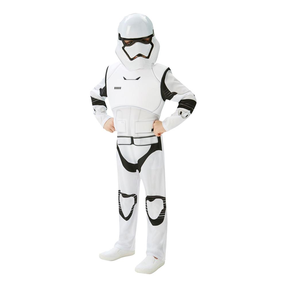 Stormtrooper TFA Deluxe Barn Maskeraddräkt