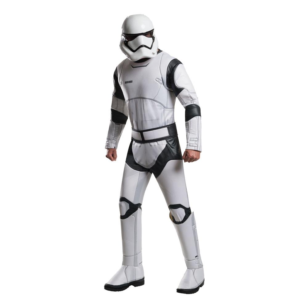 Stormtrooper TFA Deluxe Maskeraddräkt