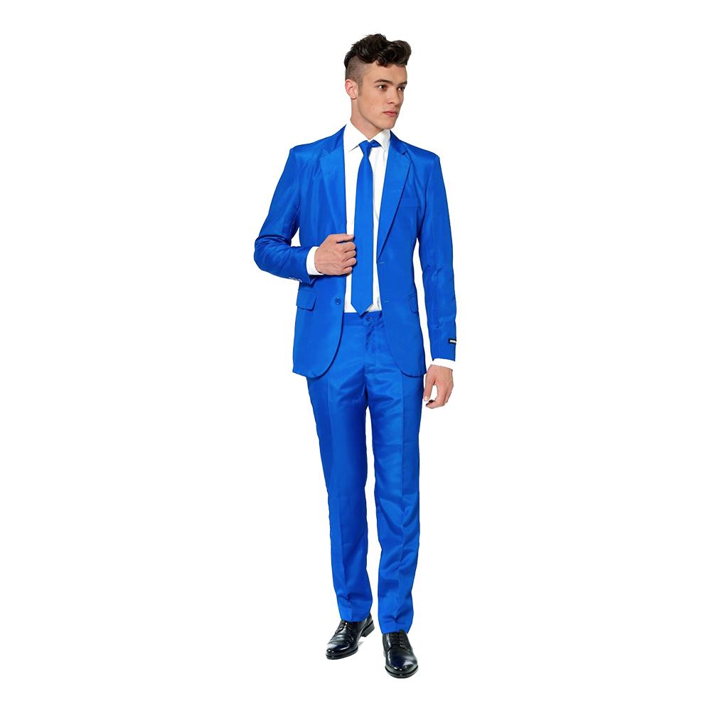 Suitmeister Blå Kostym