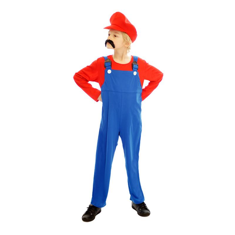 Super Mario Budget Barn Maskeraddräkt