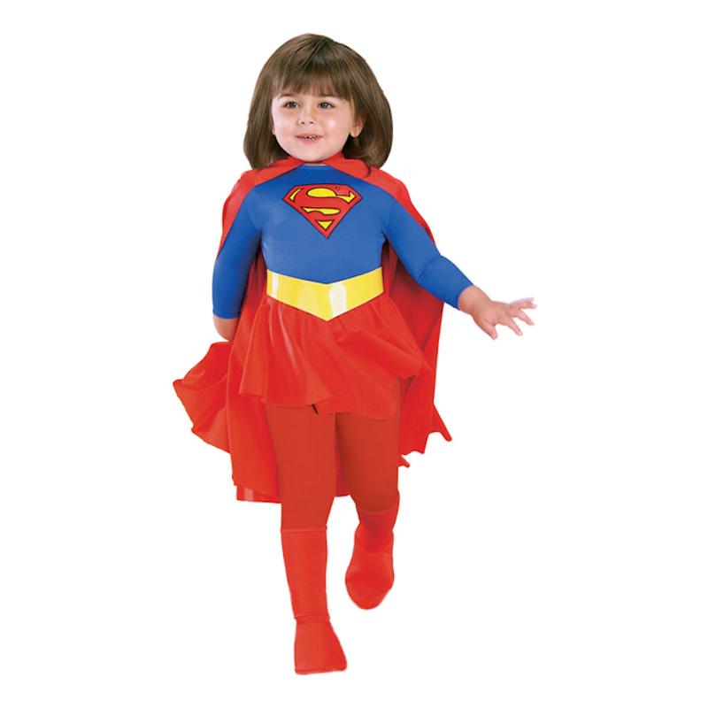 Supergirl Barn Maskeraddräkt