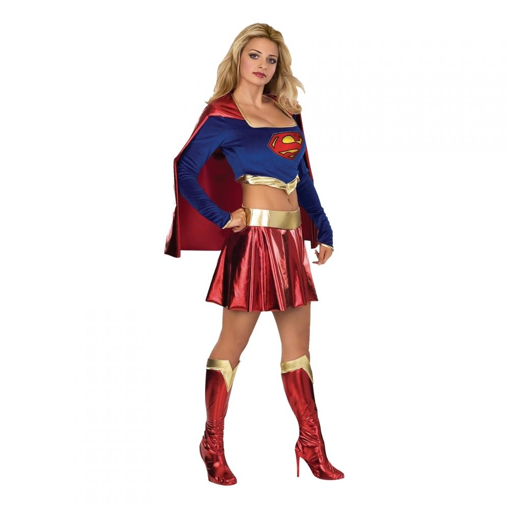 Söt Supergirl Maskeraddräkt