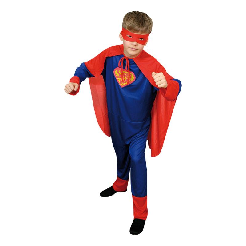 Superman Budget Barn Maskeraddräkt
