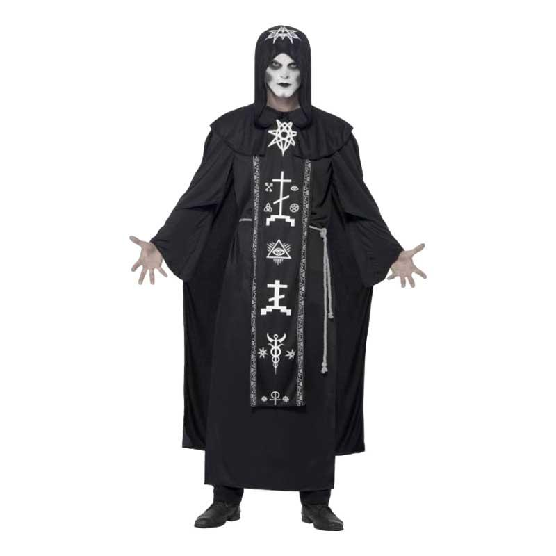 Svart Magi Ritual Maskeraddräkt