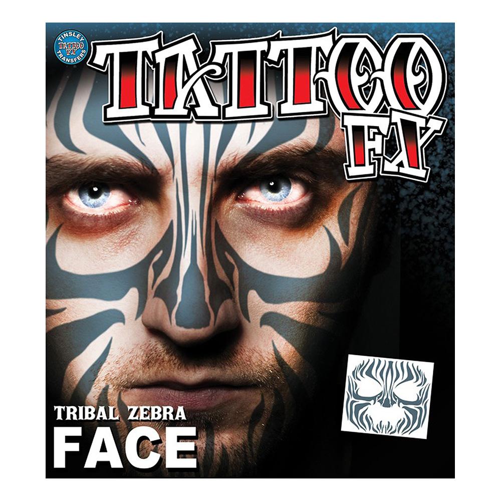 Tatueringar Zebraansikte