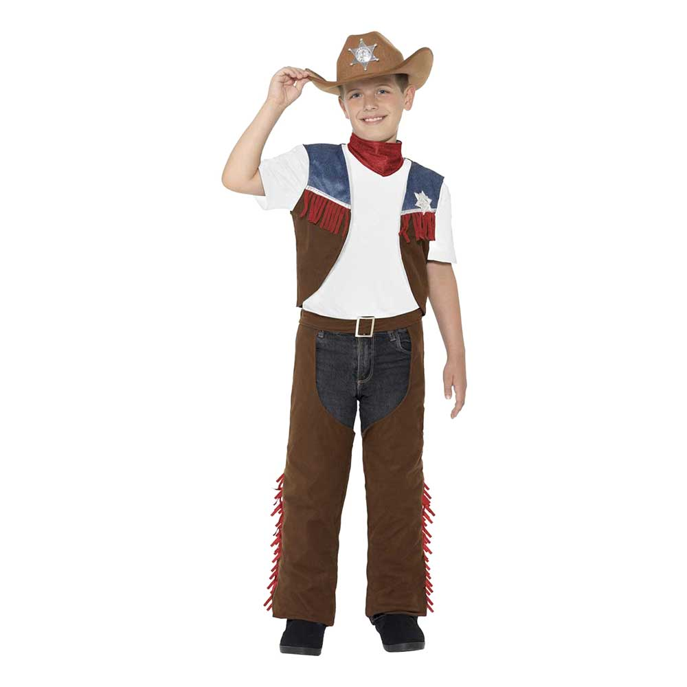 Texas Cowboy Barn Maskeraddräkt