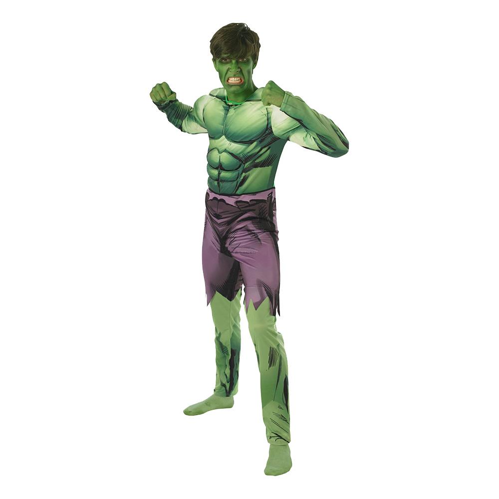 The Avengers Hulken Deluxe Maskeraddräkt