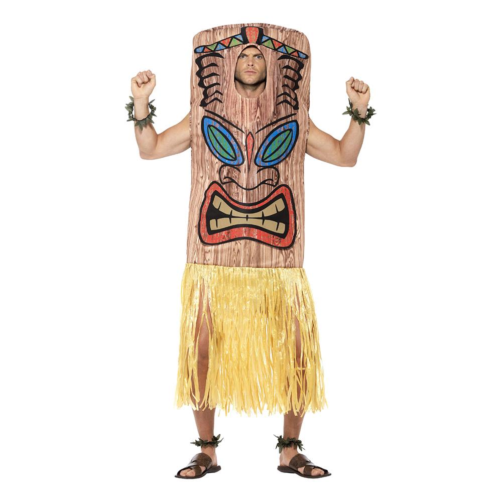 Tiki Totem Maskeraddräkt
