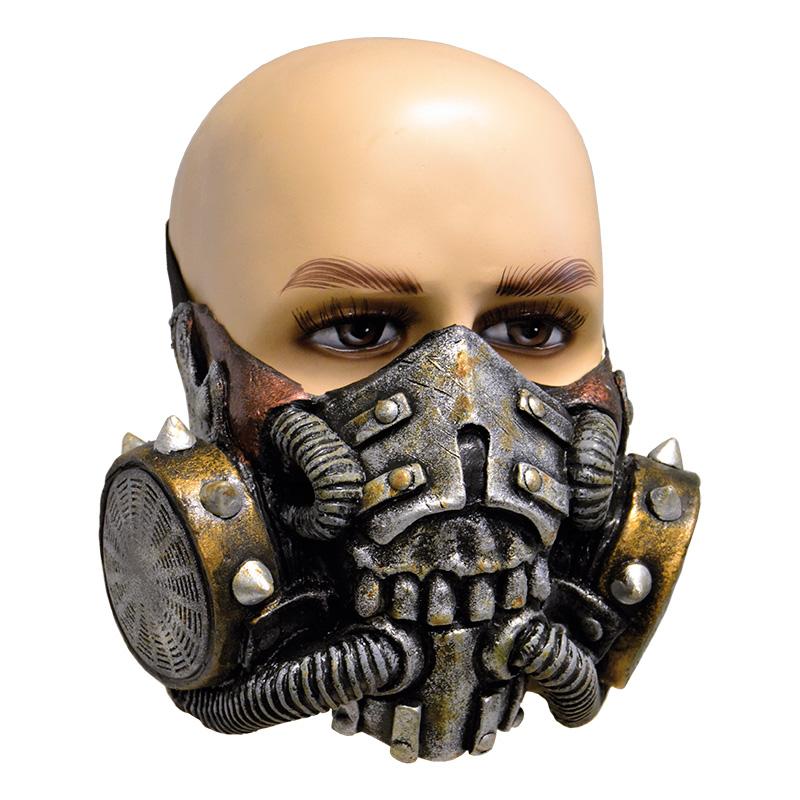 Gasmask med Nitar Latexmask