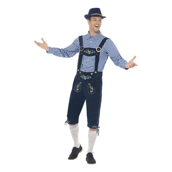 Traditional Rutger Bavarian Deluxe Maskeraddräkt
