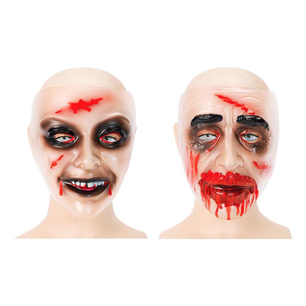Transparent Zombiemask