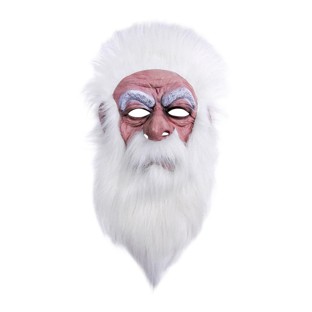 Trollkarlsmask med Hår