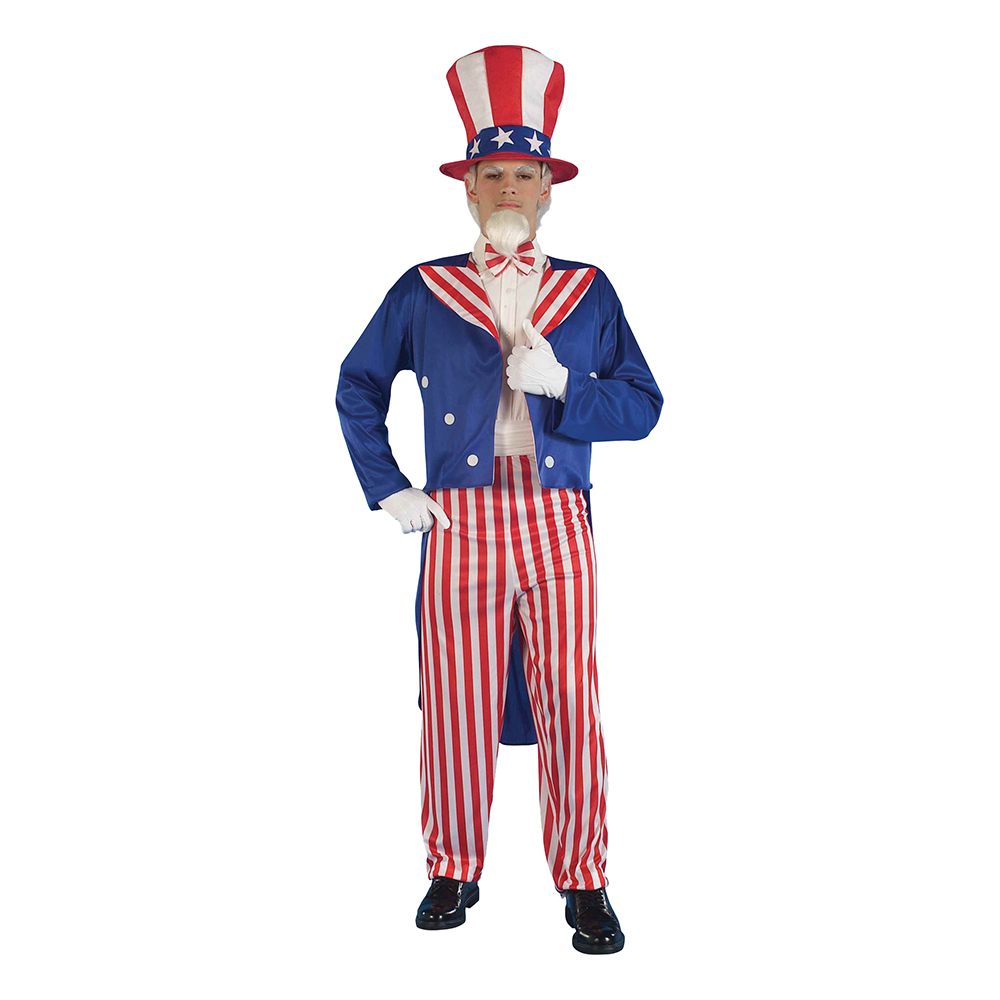 Uncle Sam Budget Maskeraddräkt