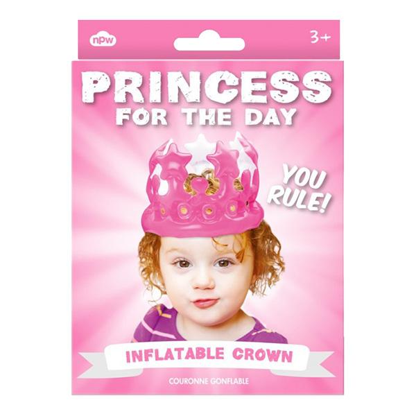 Uppblåsbar Prinsesskrona