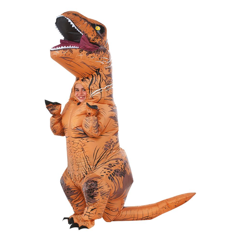 Uppblåsbar T-rex Barn Maskeraddräkt