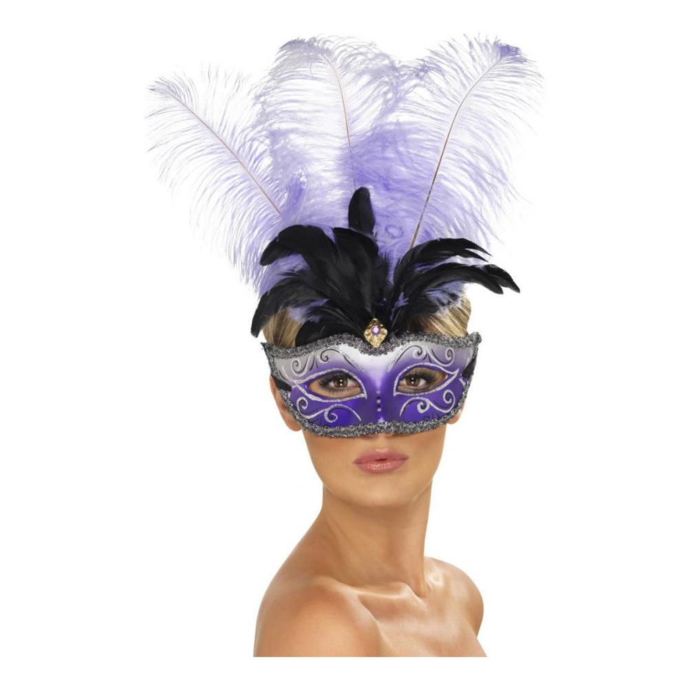 Venetiansk Colombina Ögonmask