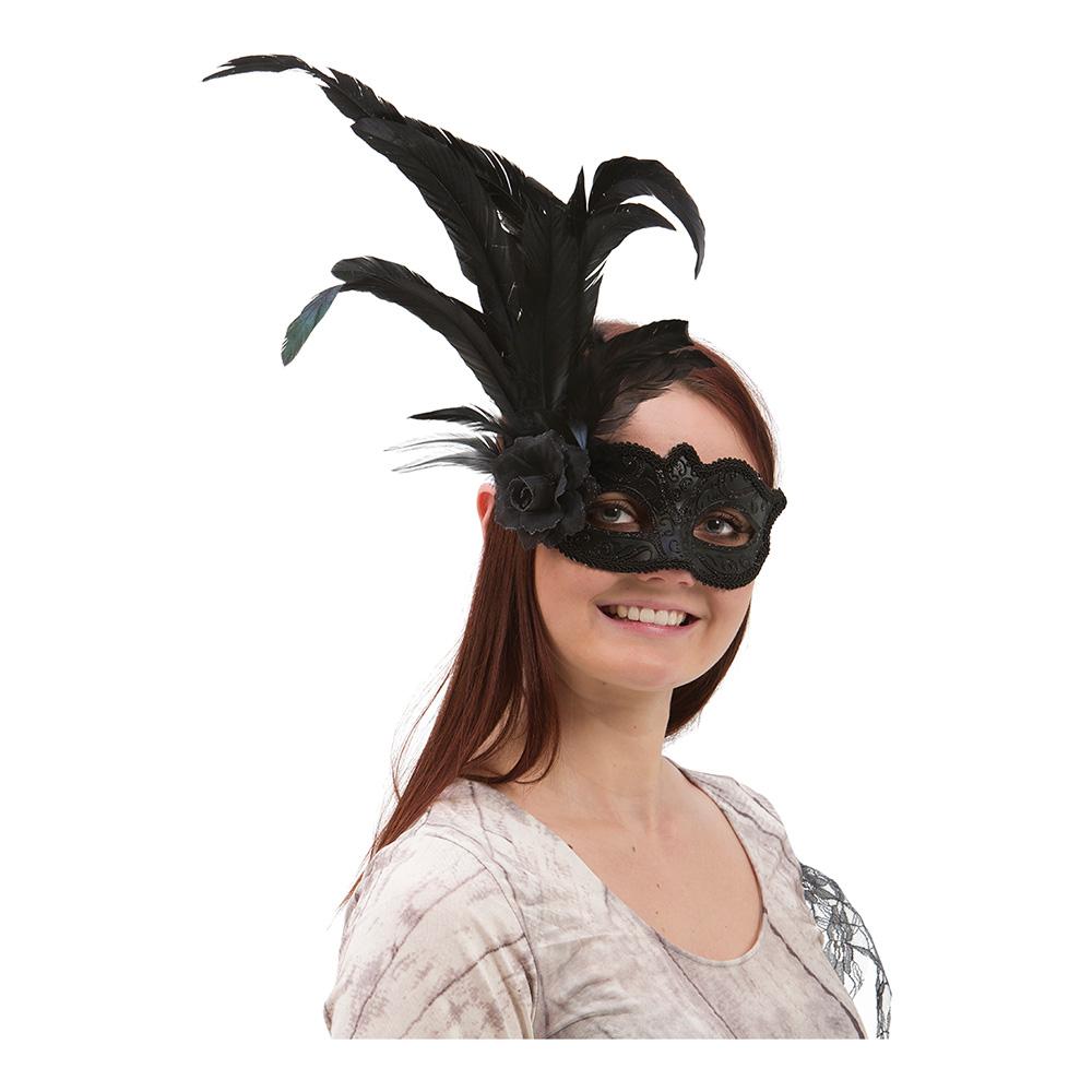 Venetiansk Ögonmask med Fjädrar