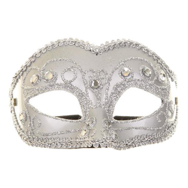 Venetiansk Silver Mask