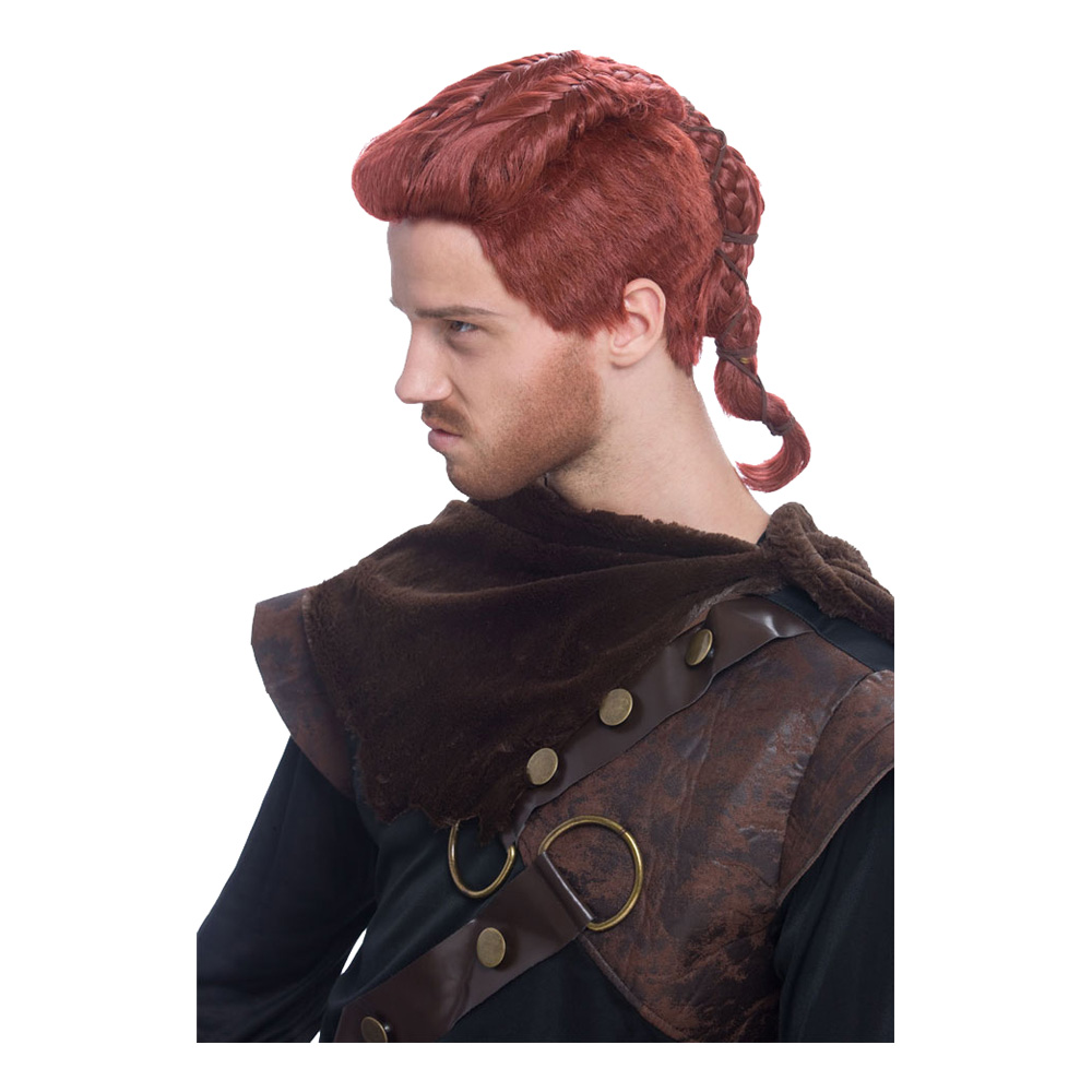 Viking Rödbrun Peruk