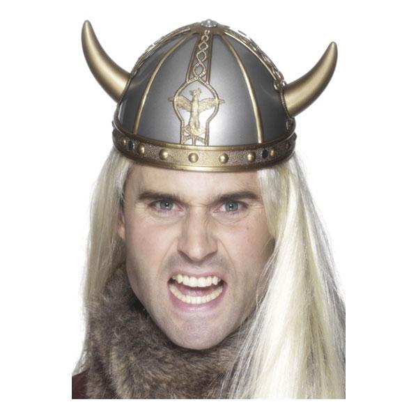 Vikingahjälm med Horn