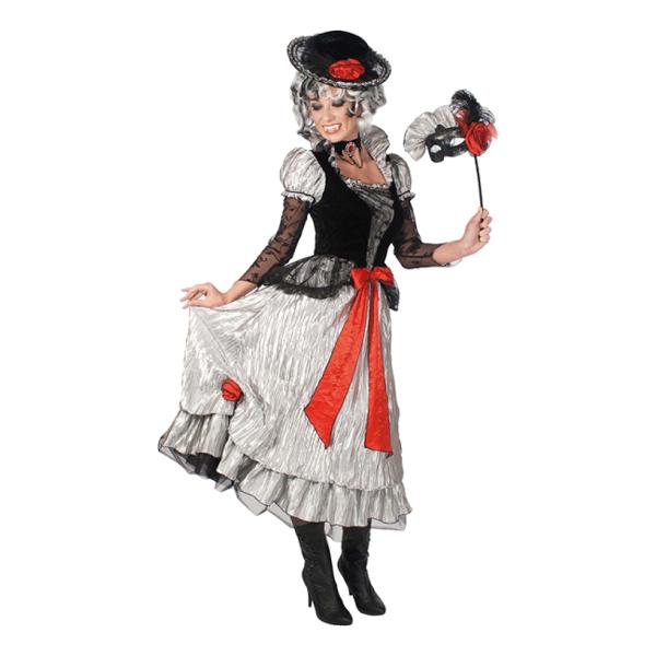 Viktoriansk Vampyra Maskeraddräkt