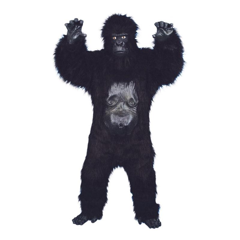 Vild Gorilla Deluxe Maskeraddräkt