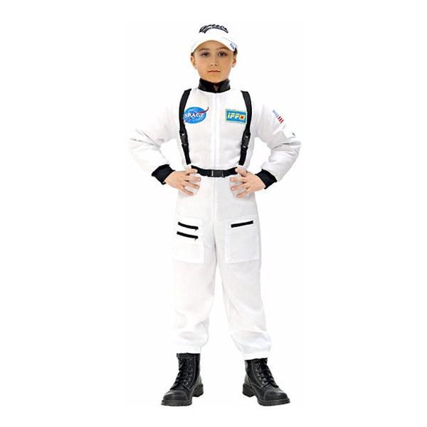 Vit Astronaut Barn Maskeraddräkt