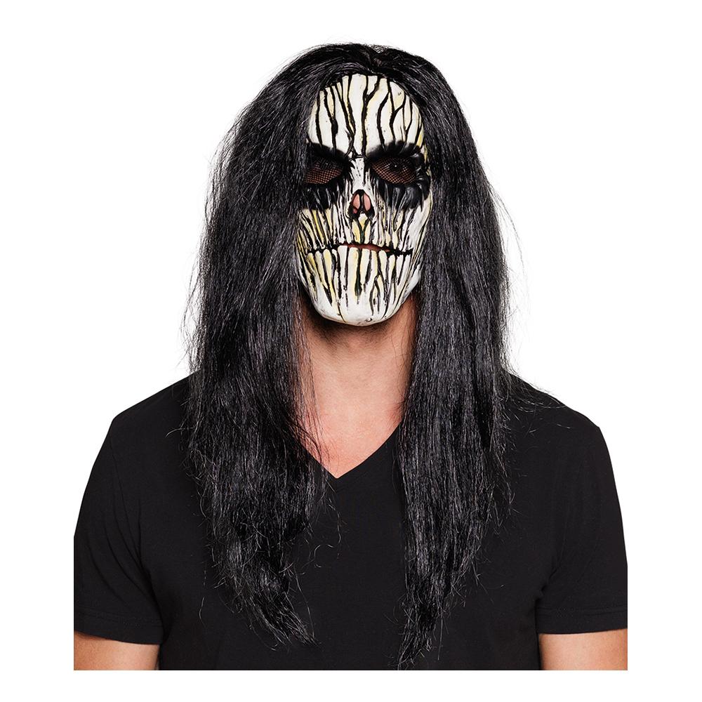 Voodoo Mask med Hår