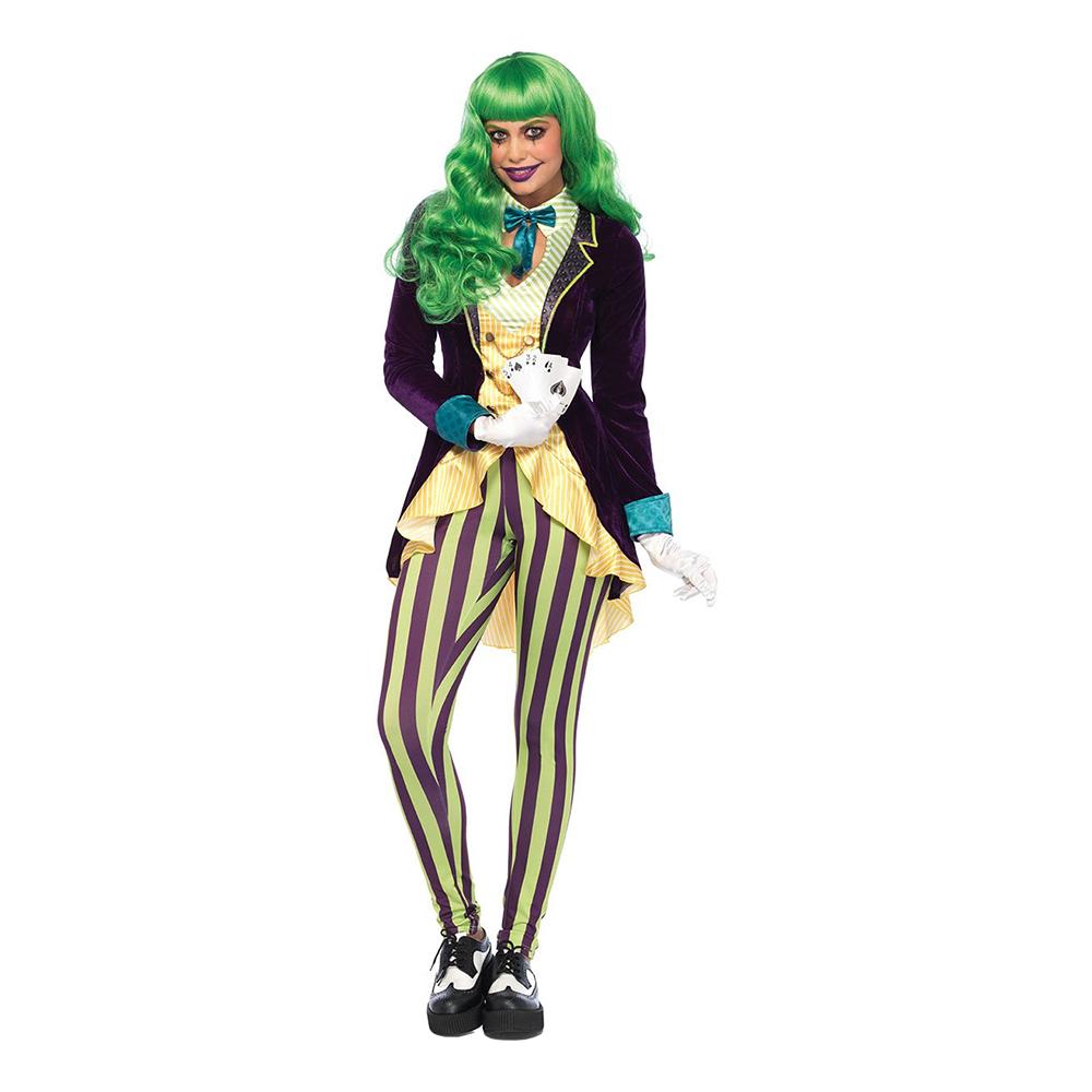 Wicked Joker Dam Deluxe Maskeraddräkt