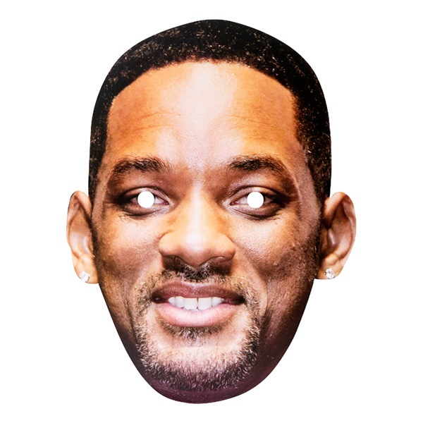 Will Smith Pappmask