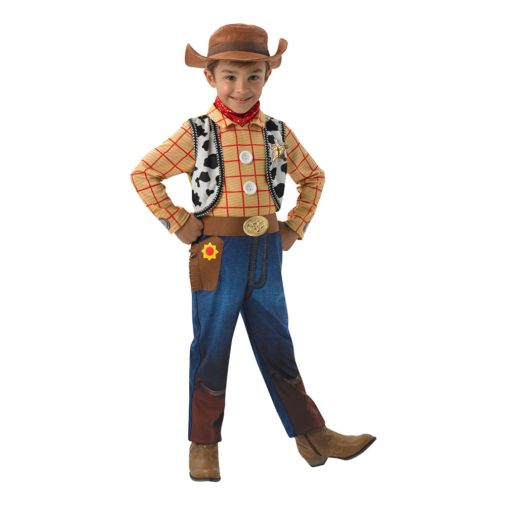 Woody Deluxe Barn Maskeraddräkt