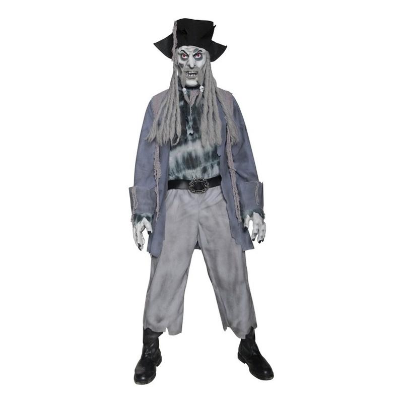 Zombie Pirat Maskeraddräkt