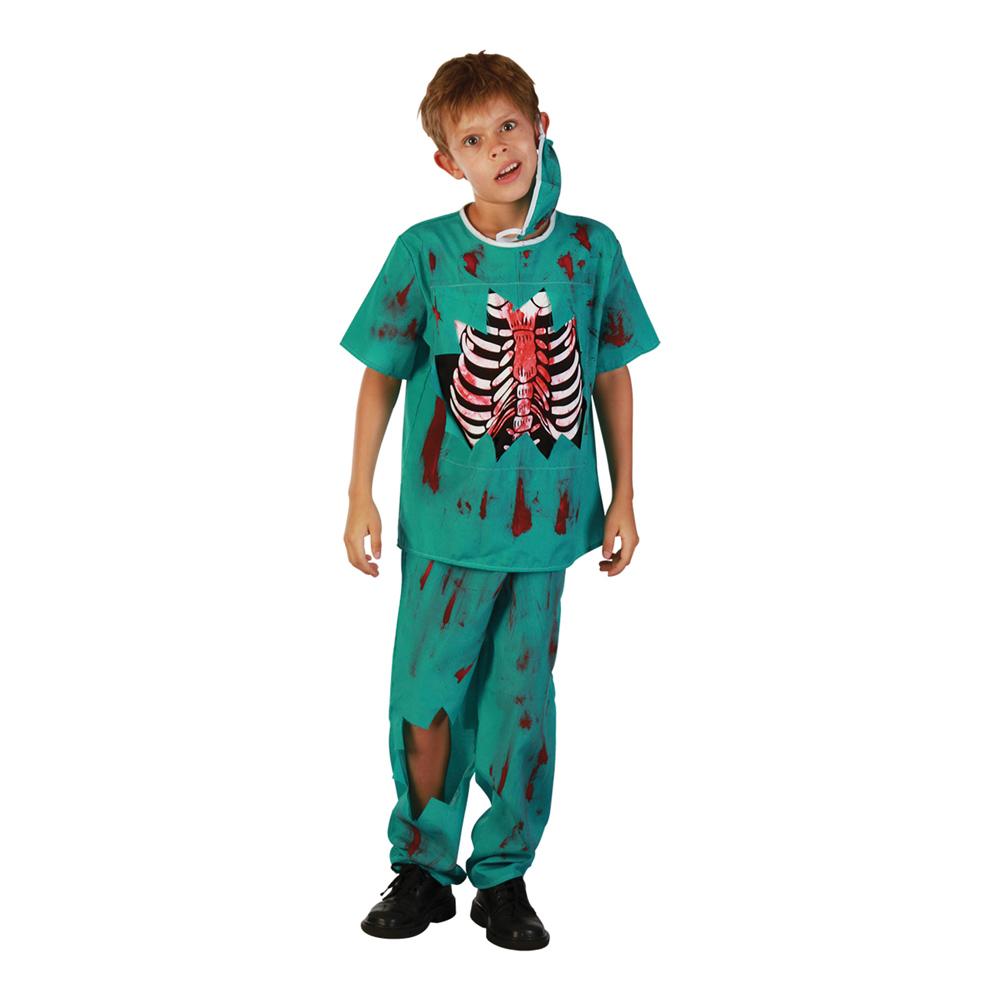 Zombiedoktor Barn Maskeraddräkt